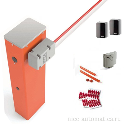 Nice WIDEM4KIT1 шлагбаум в комплекте